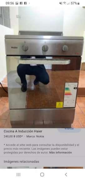 Vendo cocina de inducción en buen estado