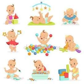 Cuidado de bebes y niños/as