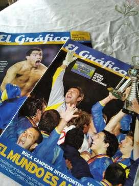 2 revistas El Gráfico