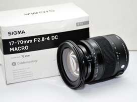 Lente Sigma 17-70mm f/2.8-4 DC Macro OS HSM   Para Canon - Nuevos con garantia