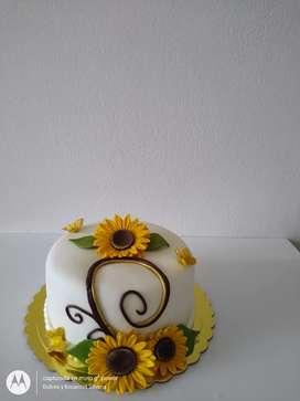 Torta de girasoles 21