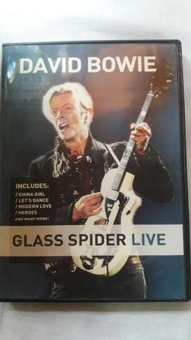 David Bowie Dvd Glass Spider Live