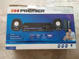 Reproductor video USB karaoke con micrófono Premier