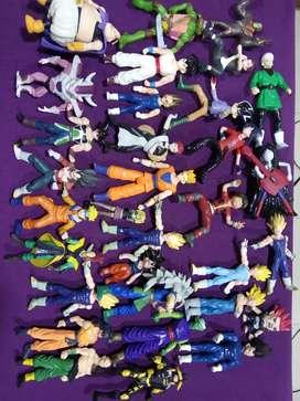 Figura o muñecos de diferentes series