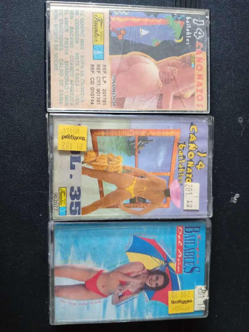 casetes de música tropical colección