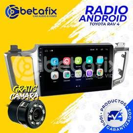 RADIO ANDROID PARA TOYOTA RAV 4 2013/2018 GPS BT USB WIFI BETAFIX DESDE