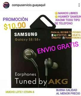 Adifonos samsung akg manos libre ENVIO GRATIS