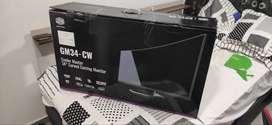 Monitor gamer Coolermaster GM34-CW