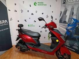 Moto Sunra electrico Leo Litio /  Modo Eléctrico Ahora 12
