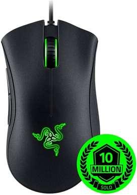 Mouse Gamer Razer Deathadder Essential 5 Botones 6400dpi