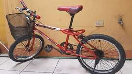 Vendi bicicleta aro 20