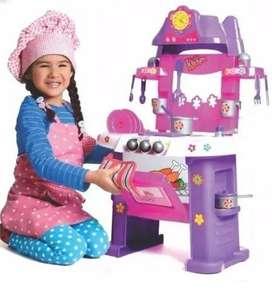 Cocina My Little Kitchen Luces Musical 21 Pcs 3+ Boy Toys