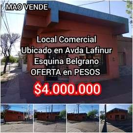 Vendo LOCAL COMERCIAL - Belgrano esq Lafinur - FINANCIO