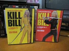 Kill Bill: Volumen 1 y Volumen 2 - DVD ARG  2003 Tarantino