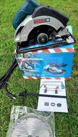 S.Circular Con Guia Laser Bosch Industrial.