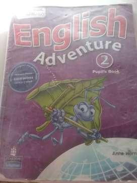 Libro english adventure 2 pupils book