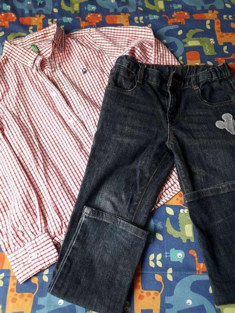 Jean Y Camisa Talla 6 0