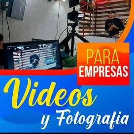 PARA EMPRESAS VIDEOS Y FOTOGRAFIAS