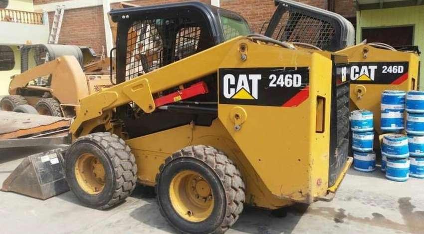 Alquiler de minicargador cat _bocat años 2019-2018 HUANUCO-cerro de pasco - junin - lima 0
