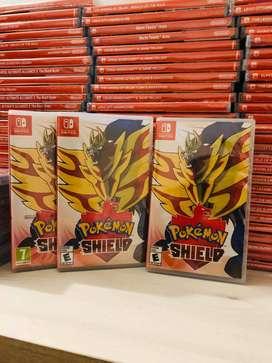 Pokemon Shield Escudo Nintendo Switch. Fisico. Sellado