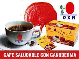Delicioso Café natural 100% natural con antioxidantes y nutrientes, desintoxica y aumenta tus defensas.