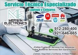 Servicio técnico especializado reparación de celulares
