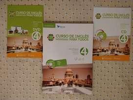 Curso de inglés para todos Cambridge, libro + CD y DVD 4
