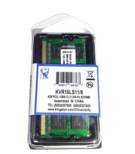 Memoria Ram 8 Gb 1600 Mhz Ddr3 PC3L Sodimm (nuevo) Para Laptop segunda mano  Perú
