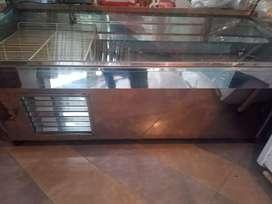 Batea exhibidora para pollería, carnicería,panadería etc