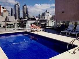 alquilo en pleno Palermo con piscina gim cochera  2/4 personas