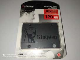Disco duro ssd, Kingston A400, 120gb.