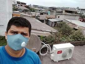 Mantenimiento de aire acondicionado Split e instalaciones