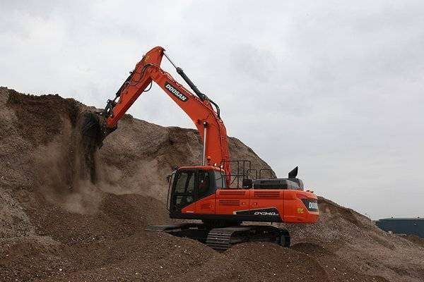 Excavadora Cat 336 D2L - Doosan dx 340 alquiler