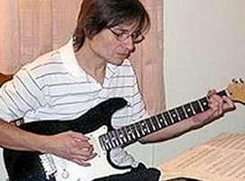 Clases de Guitarra Electrica -Metodo Berklee- Via Skype-Zoom-Google Meet, etc.