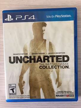 Uncharted Collection 3 juegos en uno