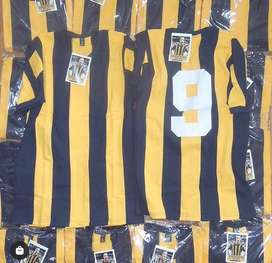 Camisetas retro varias rosario central boca river