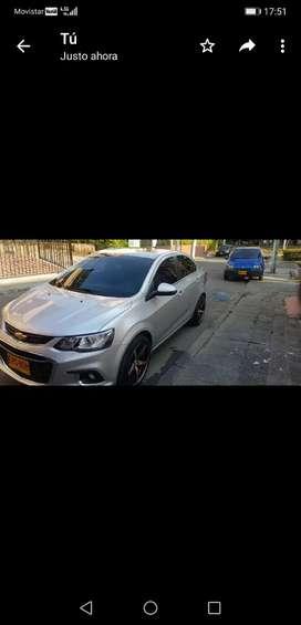 Vendo Chevrolet Sonic 2018