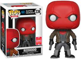 Funko Pop Exclusivo Dc Red Hood Batman Figuras Juguetes