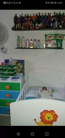 Cuna de bebé excelente estado