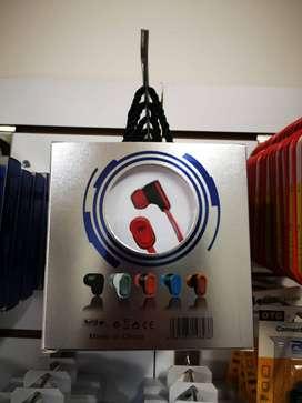 Audífonos manos libres de plug estéreo