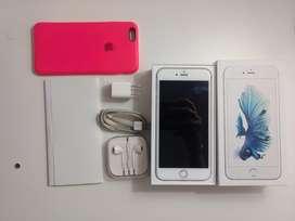 Iphone 6s Plus 64gb silver Libre con todos sus accesorios
