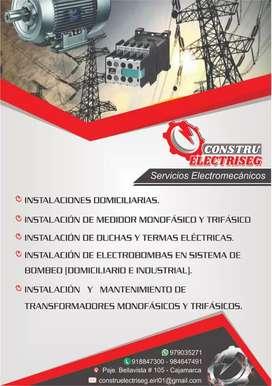 Servicios electromecanicos industriales, telecomunicaciones