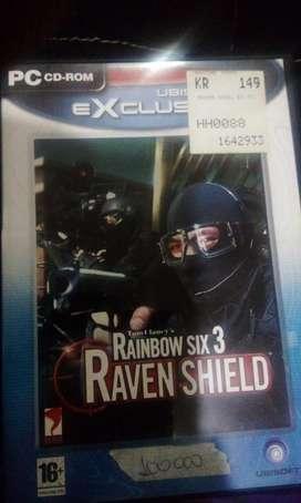 Tom Clansey's Rainbow six 3 Raven shield usado