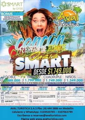Cancun del 26 de Febrero al 02 de Marzo 2020