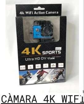 CAMARA 4K ULTRA  HD WIFI