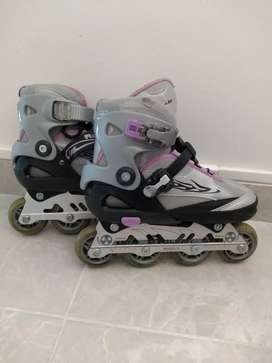 Patines semiprofesionales femeninos (Chicos Skate Roller)