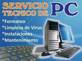Reparación de PC (escritorio y portátiles)