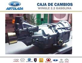 CAJA DE CAMBIOS WINGLE 2.2cc GASOLINA