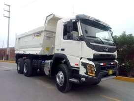 Camión Volquete Volvo FMX 500 HP 6x4 año 2020