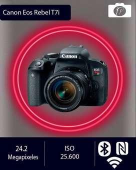 Canon T7i nueva
